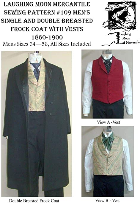 1910s Men's Edwardian Fashion and Clothing Guide 1850-1915 Coats Vests $17.95 AT vintagedancer.com