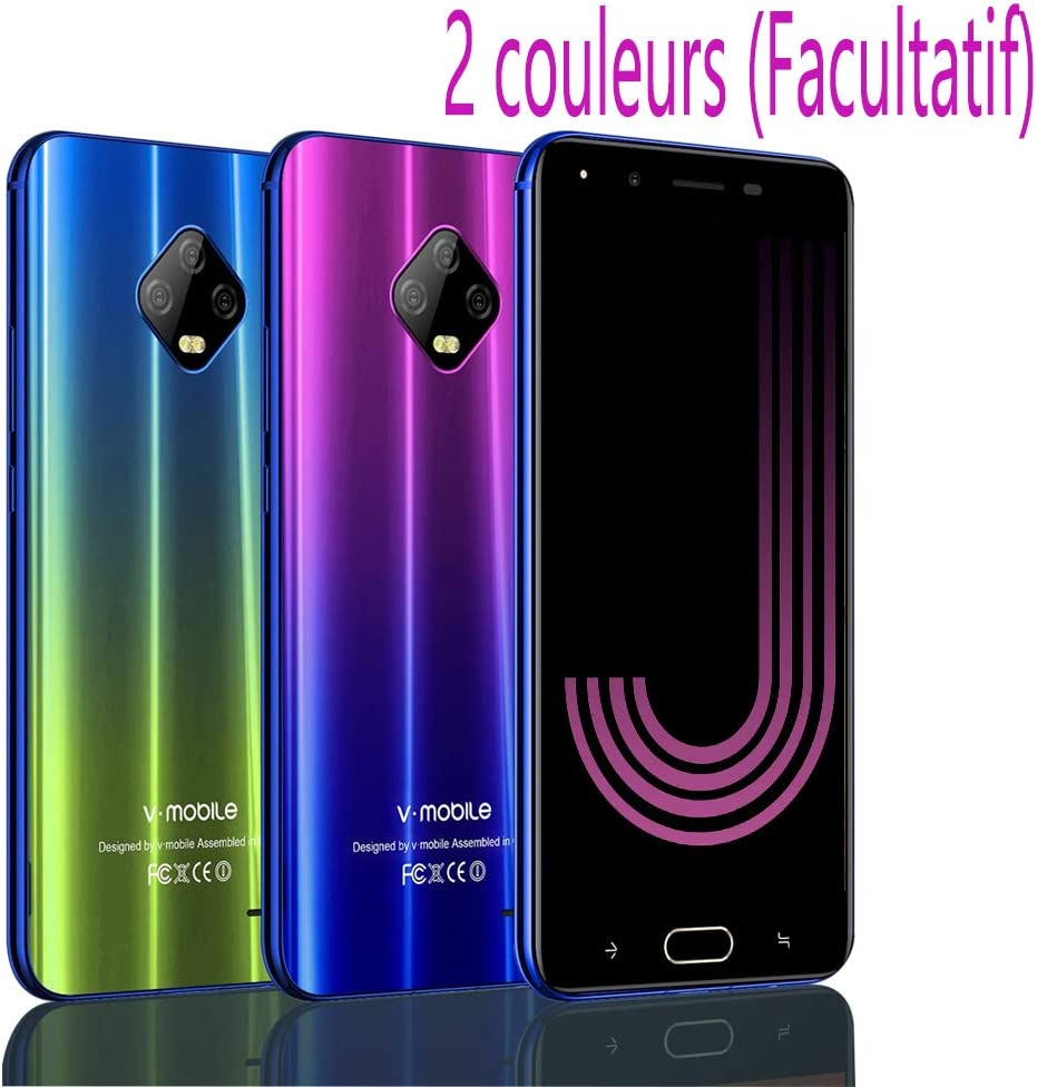Moviles Libres Baratos 4G,V Mobile J7 5,5 Pulgadas 3GB RAM 32GB ...
