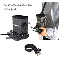 Remote Controller Monitor Sunhood Sunshade for DJI Mavic Pro and DJI Spark Accessories Hood Cover Smartphone Tablet Mount iPad Phone Holder Sun Shade (5.5 inches)