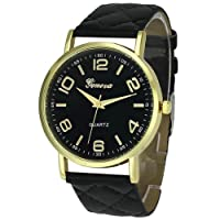 Womens Geneva Quartz Watches,Ulanda-EU Unique Numeral Analog Clearance Lady Wrist Watch Female Watches on Sale Watches for Women,Round Dial Case Comfortable Faux Leather Wristwatch m30