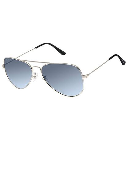 f2bbb95959 David Blake Blue Aviator Gradient UV Protection Sunglass -  SGDB1506x3025SIL