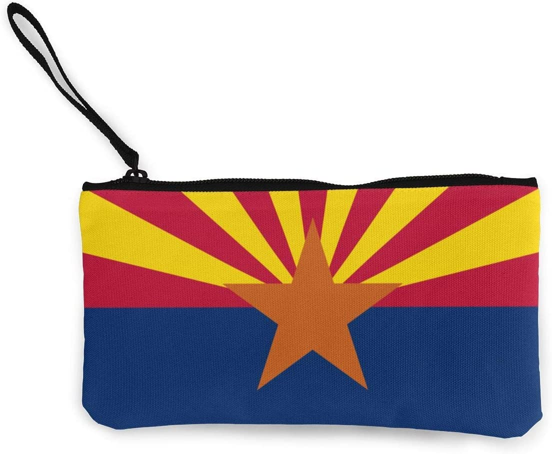 Billetera, Monederos, Arizona USA State Flag.PNG Womens Canvas Coin Purse Mini Change Wallet Pouch-Card Holder Phone Wallet Storage Bag,Pencil Pen Case: Amazon.es: Equipaje