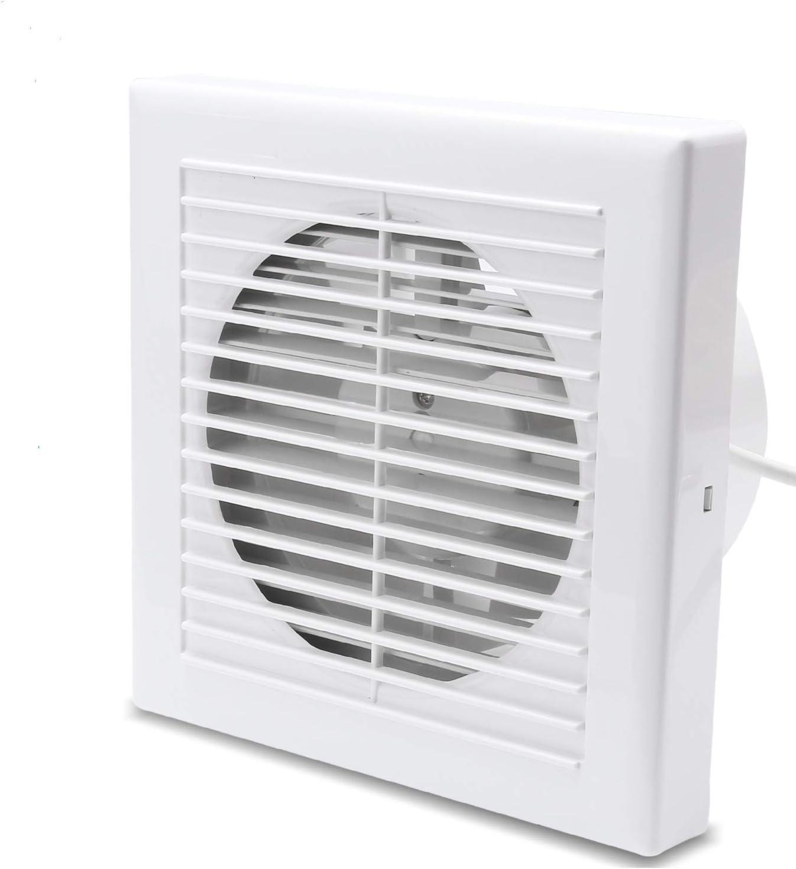VINGO Ventilador extractor de Aire Silencioso de baño, oficina, cocina, bajo consumo, 150mm