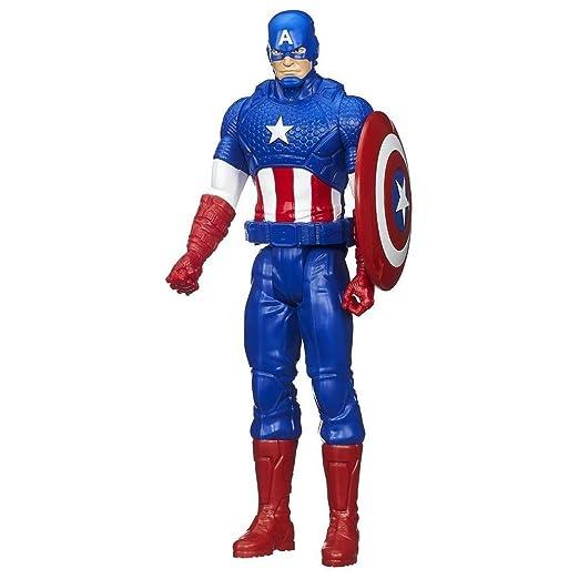 17 opinioni per Hasbro Marvel Avengers Titan Hero Series Captain America Action Figure 30,5cm