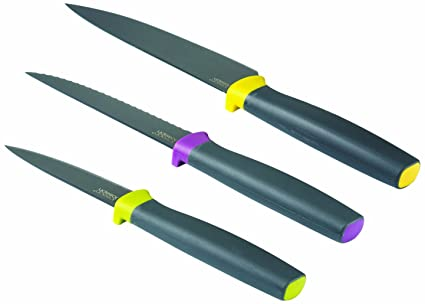 Joseph Joseph Elevate Knives 3 Piece Set Multi Colour Amazon Co