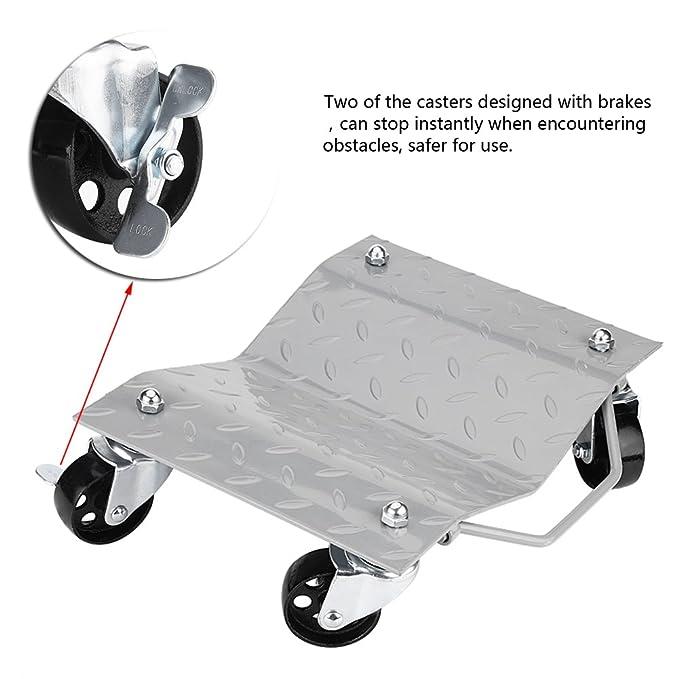 GOTOTOP ruedas de neumáticos, 2 juegos de patines de llantas para coche, furgoneta, posicionamiento diamantes en movimiento nominal de 1500 libras: ...