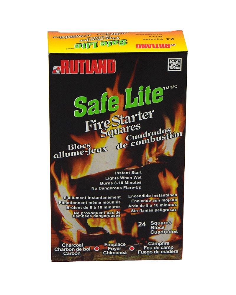 amazon com safe lite fire starter squares 24 squares home u0026 kitchen