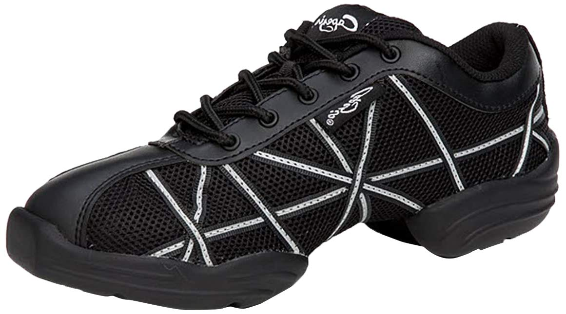 Capezio Websneaker, Zapatillas para Mujer, Negro (black/patent ...