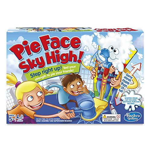 Pie Face Sky High Hasbro Gaming Pie Face Sky High Game Amazon