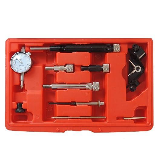 CCLIFE Reloj contador para bomba de inyección de diésel, herramienta: Amazon.es: Coche y moto