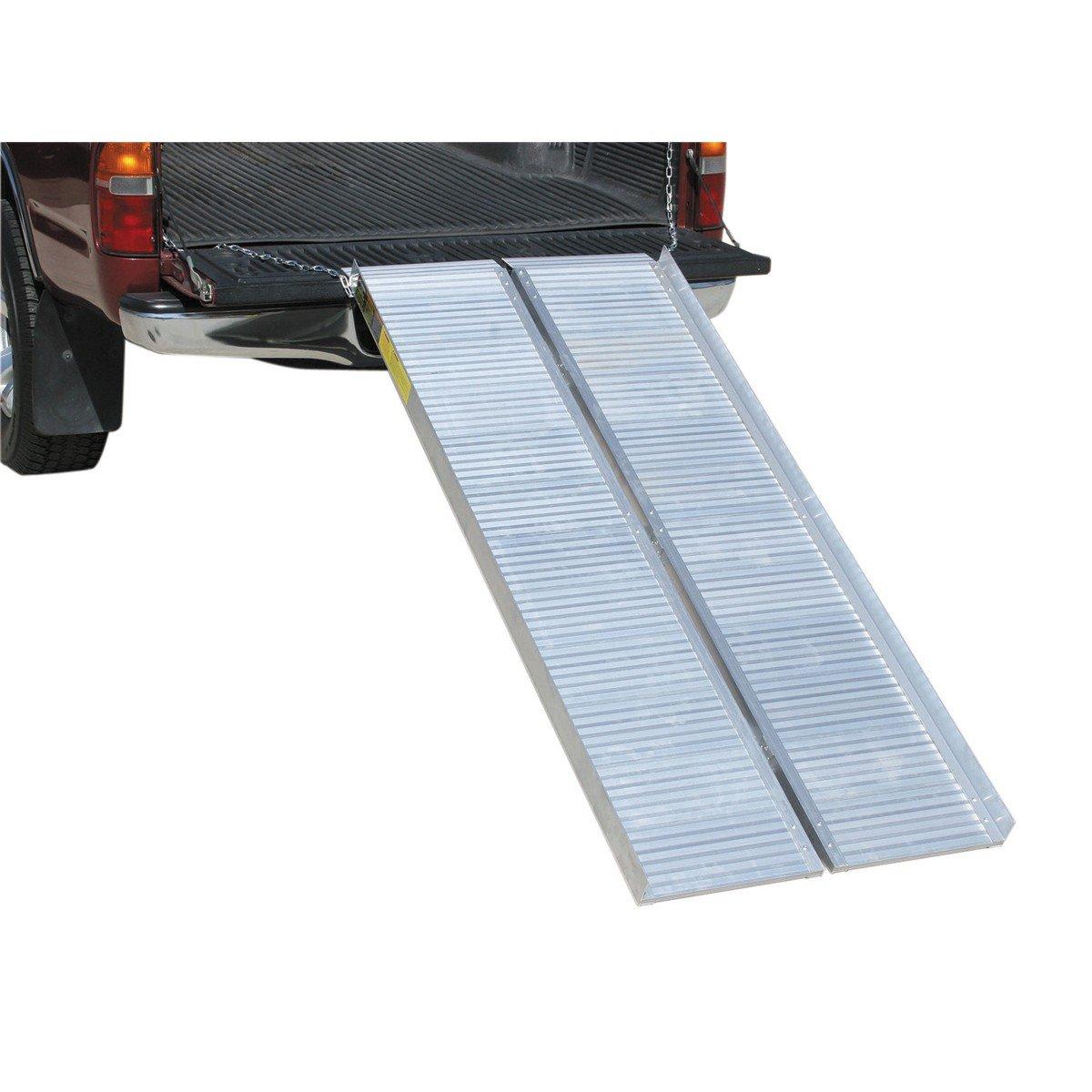 1/2 ton Capacity 30-1/4 in. x 72 in. Convertible Aluminum Loading Ramp HFJ14