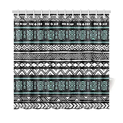 Amazon Com Interestprint Home Decor Black White And Turquoise