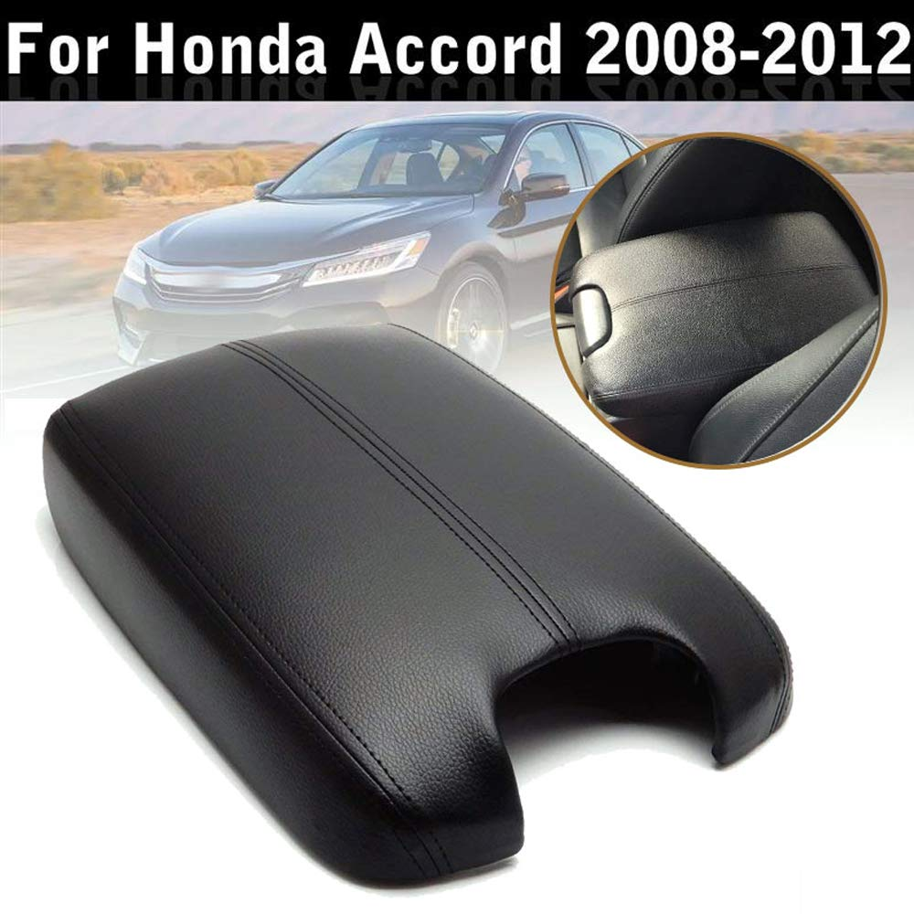 Black 2008-2012 Accord Center Console Cover Armrest Cover