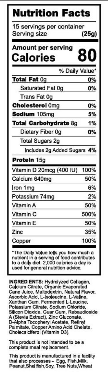 Amazon.com: Batido de colágeno Protiva para lactancia ...