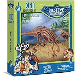 Geoworld Dino Excavation Kit-Parasaurolophus Skeleton Science