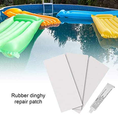 2 Boat Repair Patch PVC Patches Set Accessory for Inflatable Boat Kayak