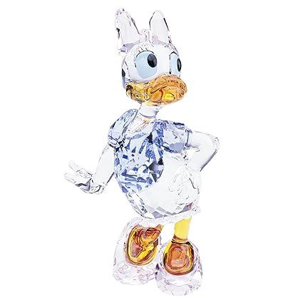 amazon com swarovski daisy duck crystal figurine home kitchen