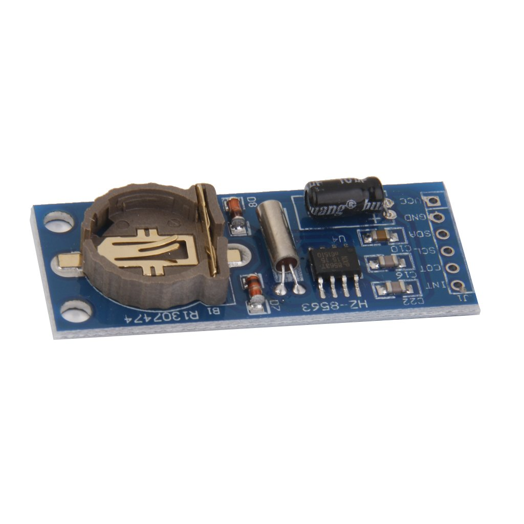 kesoto PCF8563 RTC Board PCF8563 Real Time Clock Module I2C Interface 3.3V Battery