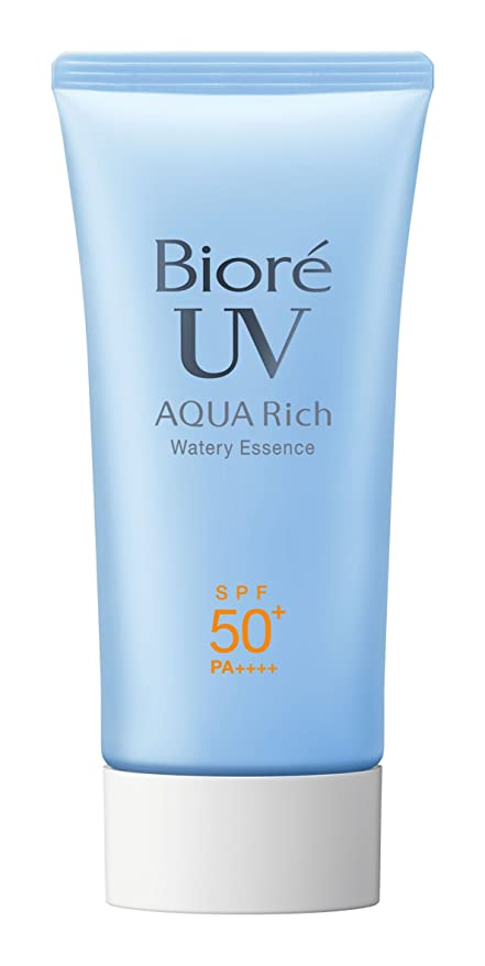 Biore UV Aqua Rich Watery Essence Water Base Sunscreen: Amazon.fr ...