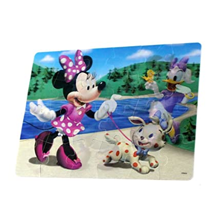 Amazon.com: 3D Lenticular Jigsaw Puzzle Disney, Angry Birds ...