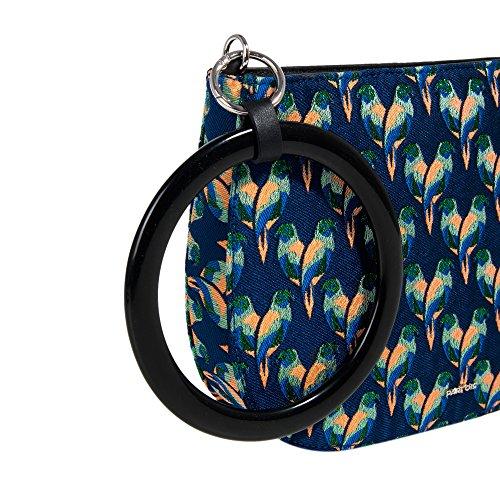 Parfois - Tasche Tropical Moon - Damen Marineblau x2wziTi