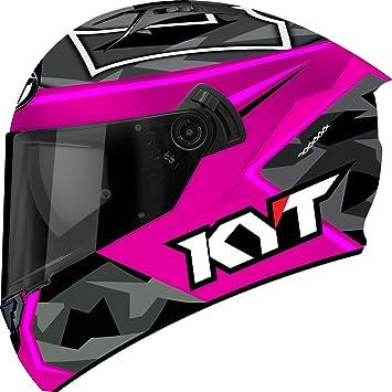 KYT casco Moto Integral nf-r, Espargaro Replica 2017 fuxia, talla 2