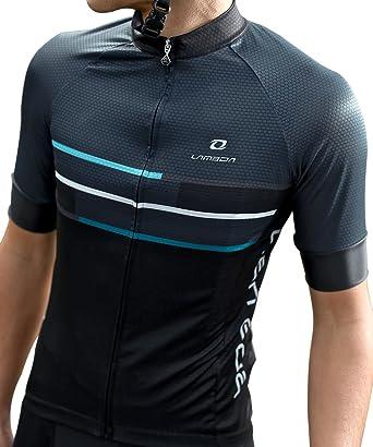 Swallow Men Cycling Jersey Bike Shirts Cycling Shirt with Zip for Biker ( Small be894754a