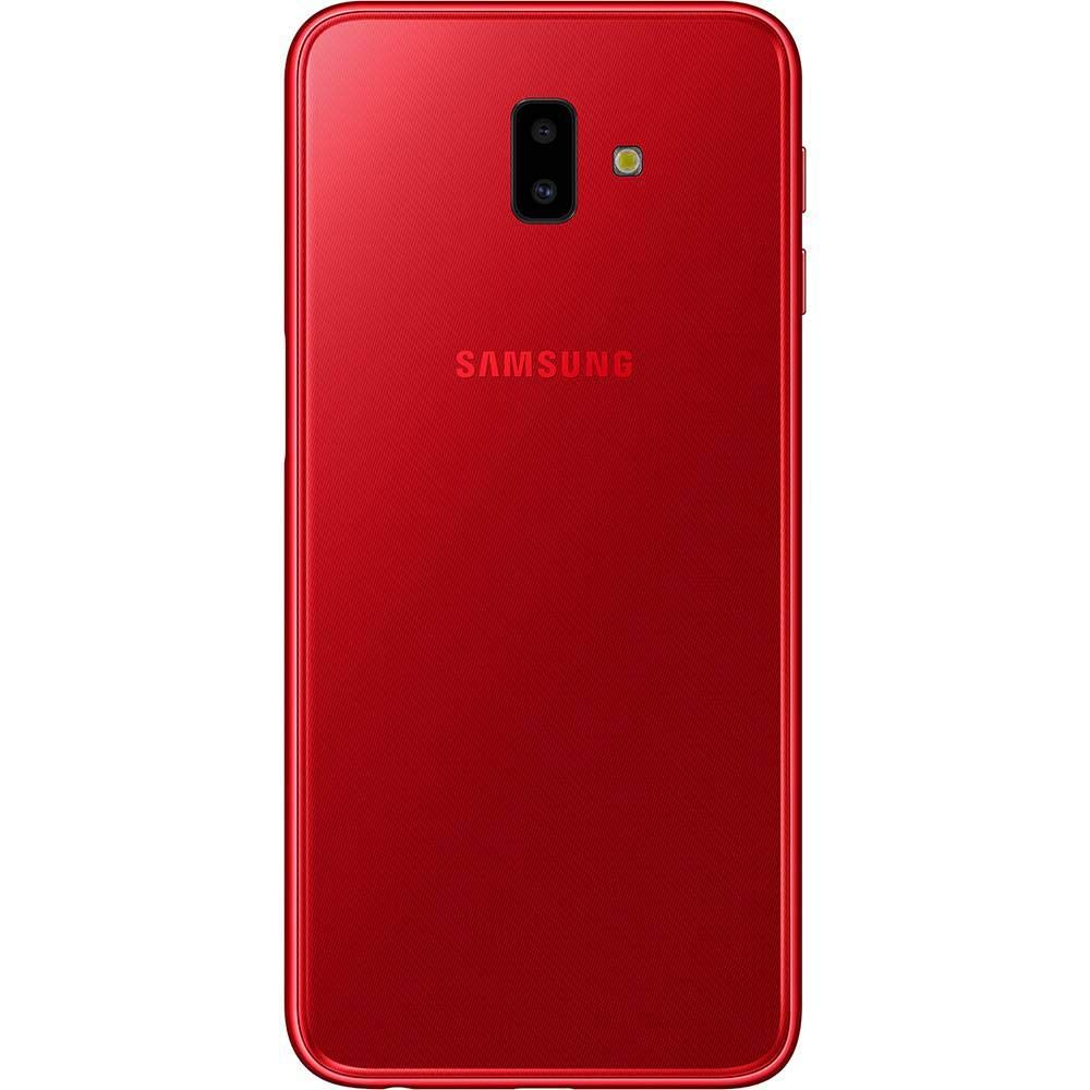 f8d36a6c76 Smartphone Samsung Galaxy J6 Plus Vermelho 32GB 3GB RAM Tela infinita de 6