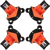 Clamps for Woodworking 60° 90° 120° multi-hoek klemmen, hoekspanner voor materiaaldikte van 5-22 mm, 4 stuks van de…
