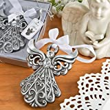 40 Silver Angel Ornament with Antique Finish from Fashioncraft