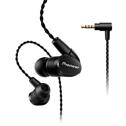 Pioneer SE-CH5BL-K - Auriculares (Hi-Res, Cable balanceado,