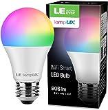 Bombilla LED Inteligente WiFi Regulable, LE Bombilla WiFi E27 9W Equivalente a 60W, 16 Millones de Colores 806 lúmen…