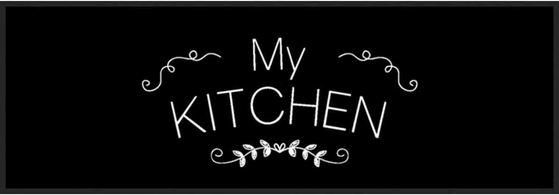 rutschfest 30/°C Waschbar My Kitchen K/üchenl/äufer 150 x 50 cm 30 Verschiedene Motive Bavaria Home Style Collection- K/üchenteppich