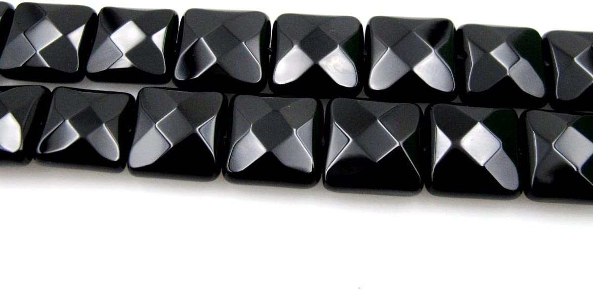 "beautiful 8x16mm Black Indian Agate Onyx Gems Loose Beads 15/"""