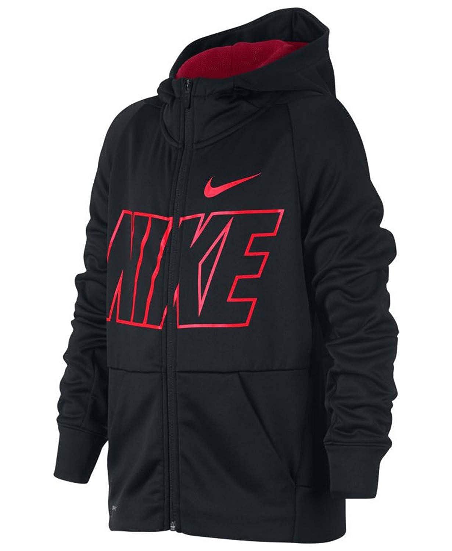 : Nike Boy's Dri Fit Therma Full Zip Training