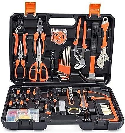Sdfg Kit de Herramientas manuales Generales Mixtas, Mejoras for el hogar pequeñas/Diminutas/Mini/Herramientas for el hogar, Juego de Herramientas de reparación portátil, con Estuche de plástico: Amazon.es: Hogar