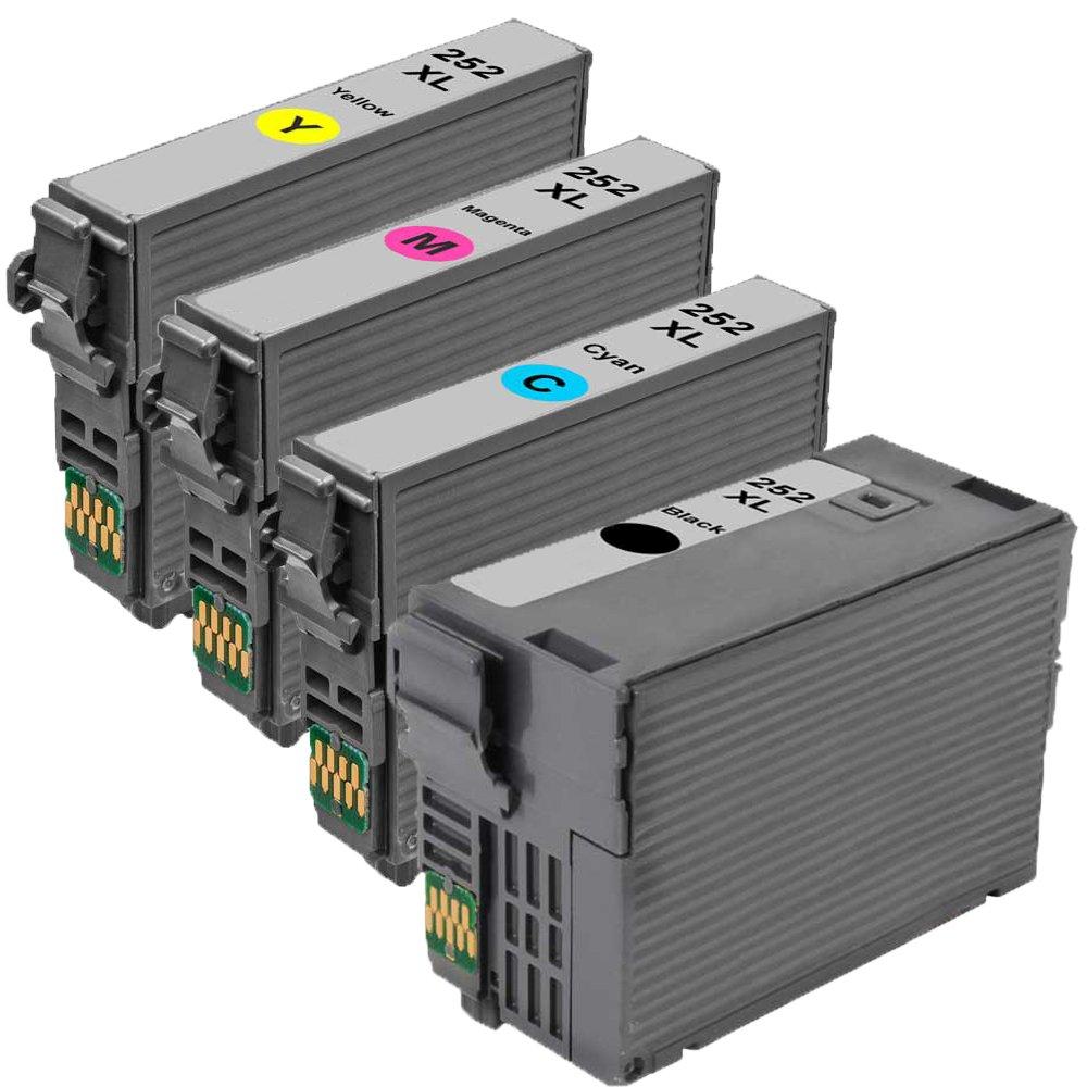 PS Productos reciclados de tinta para Epson 252 T252 252 x l ...