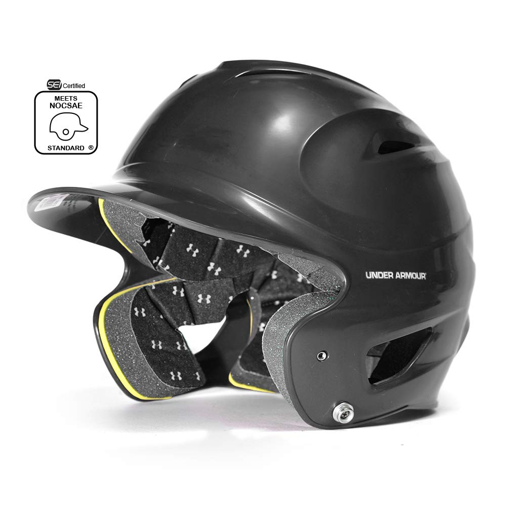 Under Armour Classic Solid Molded Batting Helmet by Under Armour