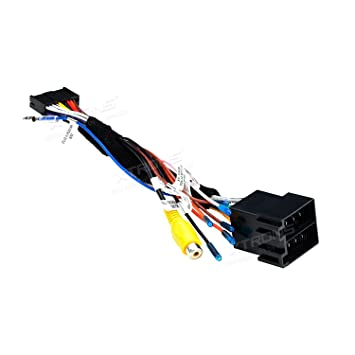xtrons iso wire wiring harness for installation of: amazon co uk:  electronics