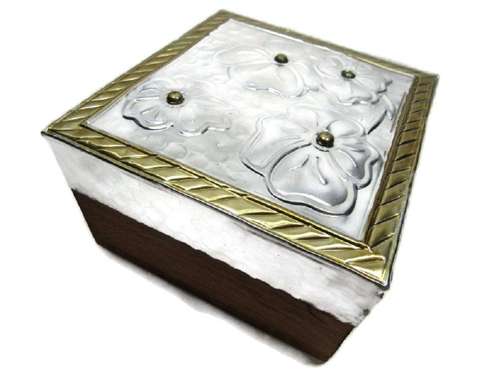 El Relicario de Los Tesoros Caja de basura de madera para manualidades: Amazon.es: Hogar