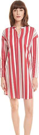 Féraud Casual Chic 3201201-11673 Women's Stripe Cotton Nightdress