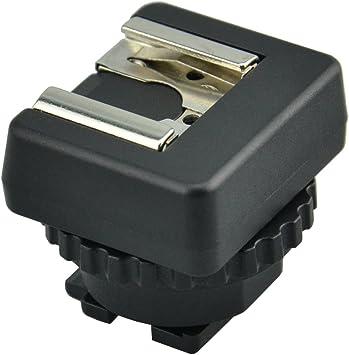 JJC MSA-MIS Standard Cold Shoe Converter Adapter for Sony Multi Interface Shoe