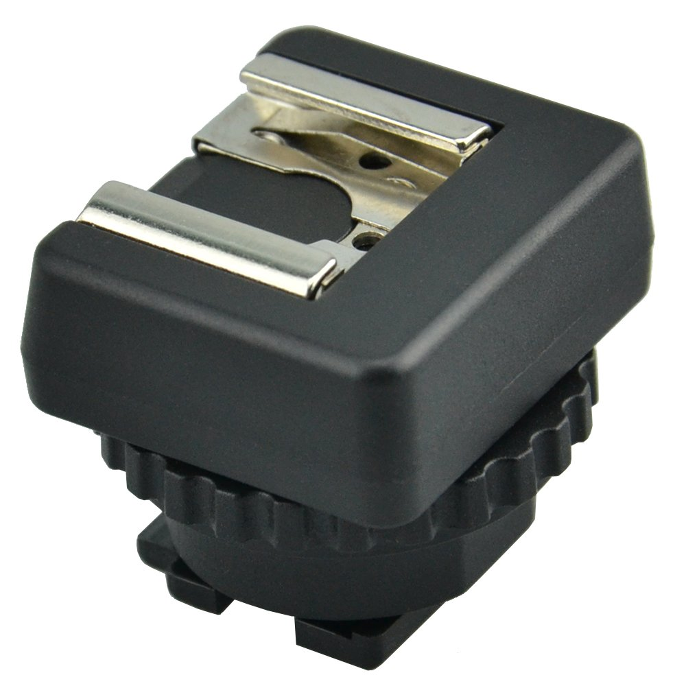 JJC MSA-MIS Standard Cold Shoe Adapter Converter for Sony Multi Interface Shoe Camcorder (Black)