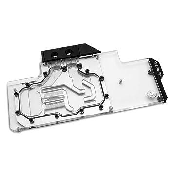 Amazon com: EKWB EK-Vector Trio RTX 2080 Ti RGB GPU