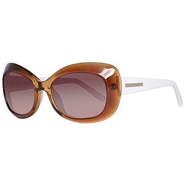 BENETTON BE71602, Gafas de sol para Mujer, Brown/White 52 ...