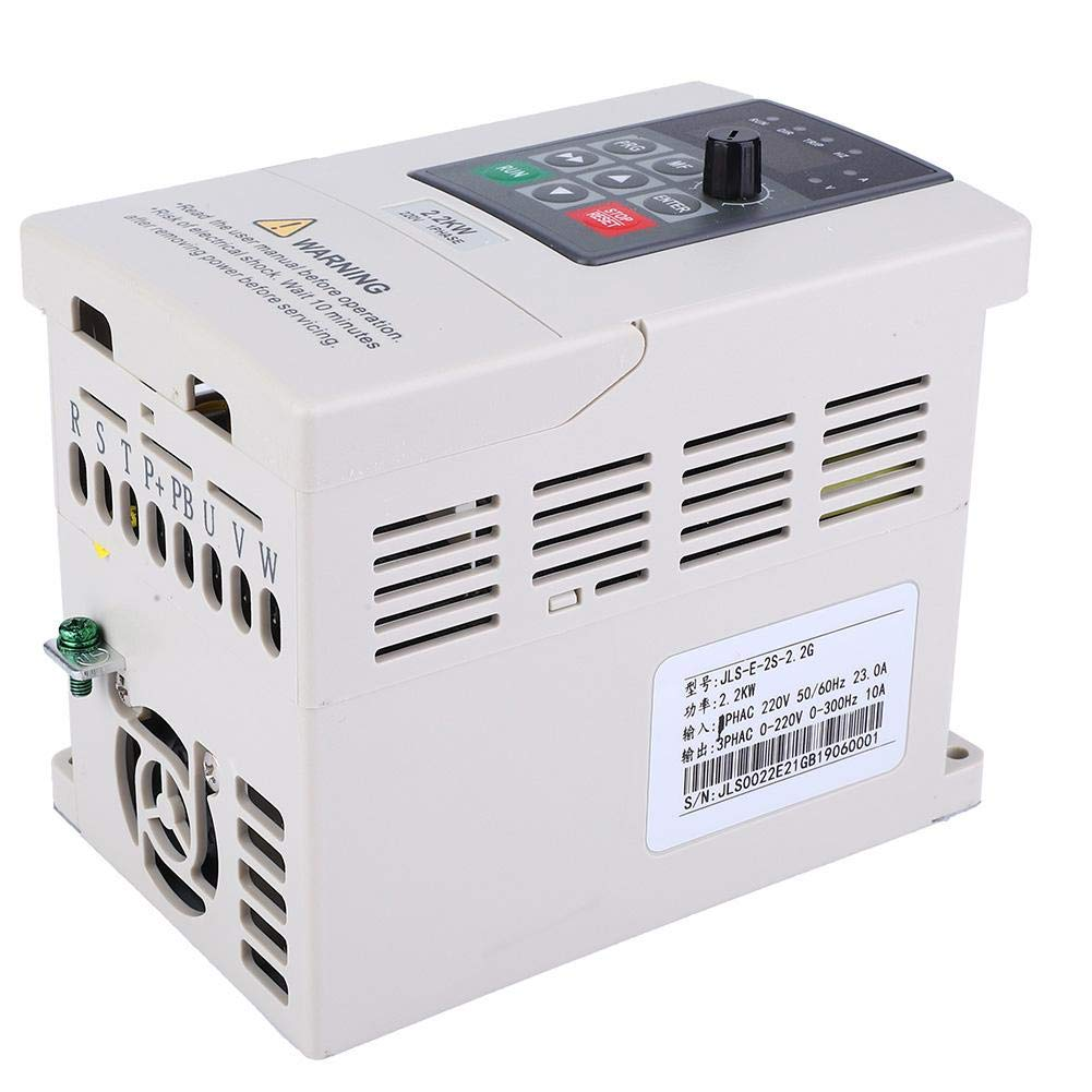 Variable Frequency Converter, 2.2KW Single Phase to 3 Phase 220V Variable Frequency Drive VFD Motor Converter Inverter by Suchinm
