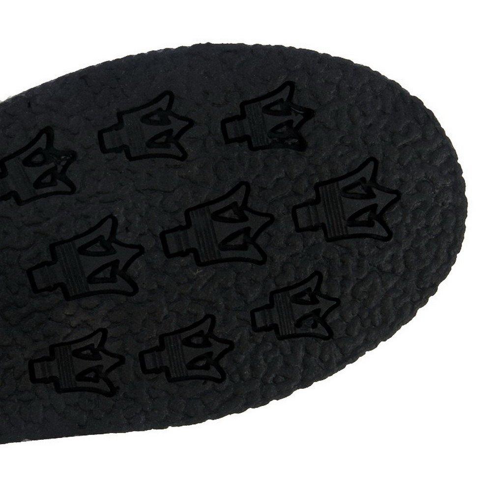 WeenFashion Women's Solid PU Low-Heels Low-Heels Low-Heels Zipper Round Closed Toe Boots B01N3OQETD Platform e8f3c4
