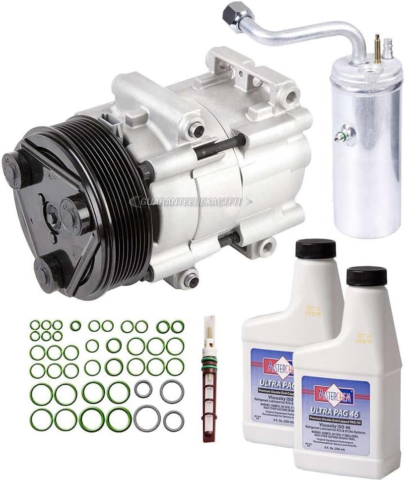 For Ford F-250 99-03 F-350 99-03 A//C Compressor w// Clutch Premium Aftermarket
