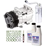 New AC Compressor & Clutch W/ Complete A/C Repair Kit For Ford Powerstroke 7.3L - BuyAutoParts 60-80330RK New