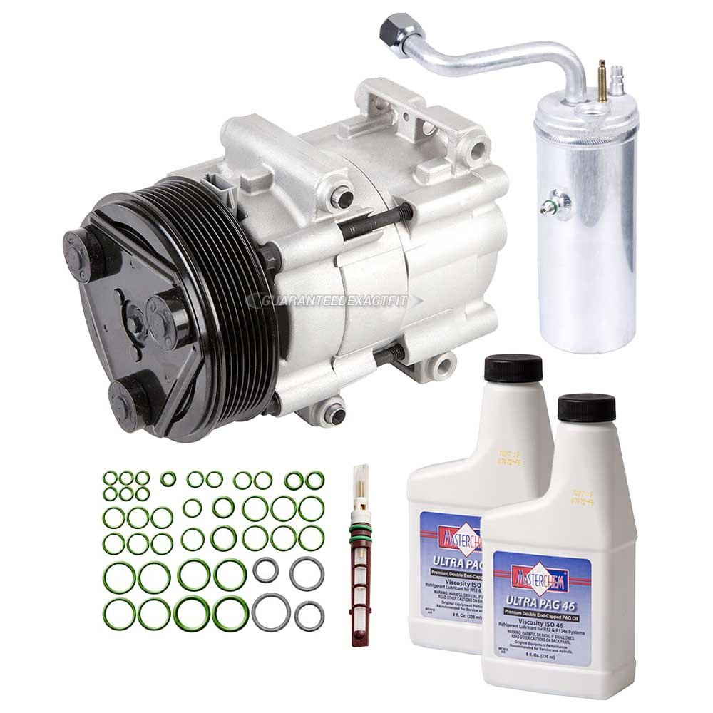 New Ac Compressor Clutch W Complete A C Repair Kit For 1992 Ford F 150 Engine Parts Diagram 4 6l Powerstroke 73l Buyautoparts 60 80330rk Automotive